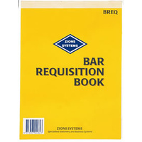 Bar Requisition Book Zions BREQ - each