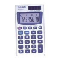 Calculator  8 digit Casio HS85TE Pocket Battery & Solar