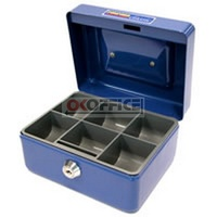 Cash Box  6 inch Classic Blue Concord 375068 - each