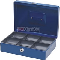 Cash Box 10 inch Classic Blue Concord 375108 - each