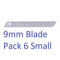 1 Small Snap Blades 9mm 6403 SDI 0176839 - pack 6