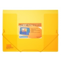 Document Wallet A4 Orange Box 24 Beautone 34981 Coolfrost