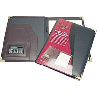 Waterville Executive Pad and Note Holder Black W21A4BLACK - each
