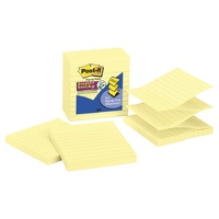 Stick on notes Pop up refill BIG SIZE R440-yw lined yellow - pack 5