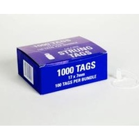 Merchandise Tags 7x17mm Tie On No 13ah - box 1000