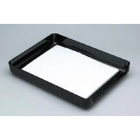 Desk Tray Eldon Images Series Front Load Legal Size Desk Tray Black R15791 - each