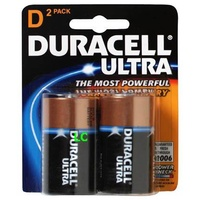 Batteries D 2 Duracell Ultra 30005386 - pack 2