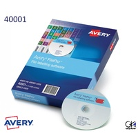 Avery 40001 FilePro File Labelling Software 10 PCs Box windows only