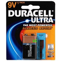 Batteries - 9 Volt Duracell Ultra - box 12