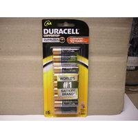 Batteries AA 16 Duracell Coppertop - pack 16