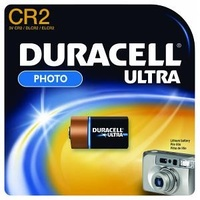 Battery Duracell Ultra Lithium CR2 Photo 3 Volt Card of 1