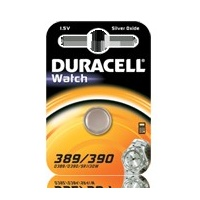 Battery Duracell 389/390 Watch/Electronic Card of 1 - each