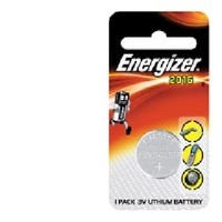 Batteries Eveready CR2016 LITHIUM ECR2016BP1 - pack 1