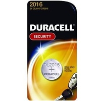 Batteries 3V Duracell DL2016B Lithium - pack 1