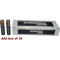 Batteries - AAA 24 Duracell ULTRA Bulk - box 24