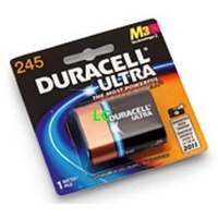 Batteries Duracell 6 volt lithium 245 18036128 - pack 1