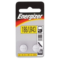 Batteries Energizer 186 LITHIUM 186BP2 - pack 2