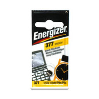 Batteries Energizer 377bp - pack 1