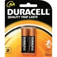 Batteries - AA - 2 Duracell Coppertop - card 2
