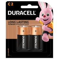 Batteries C 2 Duracell Coppertop - pack 2