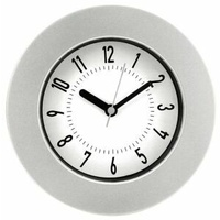 Clock 16cm Wall Silver Jastek - each