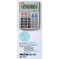Calculator 12 Digit Canon LS121TS Cost Sell Margin  Get solar with dual powered