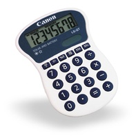 Calculator  8 digit Canon LSQT Hand Held Large Display The LS-QT handheld is perfect for meetings