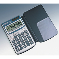 Calculator 10 digit Canon  FC45SBL Metric Converter Pocket Battery & Solar - only 1 left - if shows back order then sold out