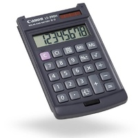 Calculator  8 digit Canon LS390H Pocket Battery & Solar Meet your reliable business pocket calculator