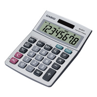Calculator  8 digit Casio MS8Tv DeskTop Battery & Solar Dual Power MS8TVBP