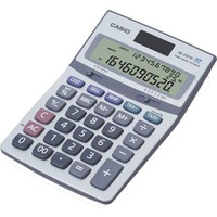Calculator Casio MS310TM 10 Digits Silver - each