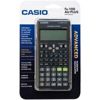 Calculator Casio FX100AU 10 Digit Scientific FX100AUPLUS