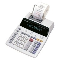 Calculator 12 digit Prints Sharp EL2901RH 2 colour Mains Power only (no batteries) Printing