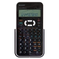 Calculator Sharp EL531XHBWH Scientific Up to 272 scientific and statistical functions White Black