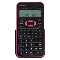 Calculator Sharp EL531XHBPK Scientific Up to 272 scientific and statistical functions Pink Black