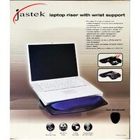 Laptop Riser With Wrist Support Black 0329160 - each