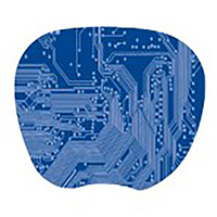 Mouse Pad mat super thin Blue Kensington 200014 - each