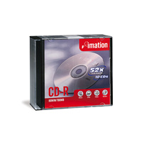 CDR 700mb 80 minutes Imation - PACK 5