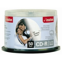 CDR 52x 700mb white printable Imation - spindle 50