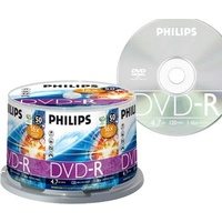DVD-R 4.7gig minus Philips 16x - spindle 50