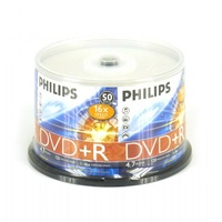 DVD+R 4.7GB 16x speed Philips - Spindle 50