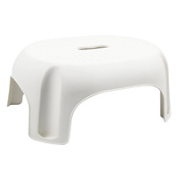Footstool 210mm high max weight 90kg I419 White - 300L x 387W x 210High