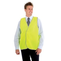 Safety Vest High Visibility Zions L Yellow - each