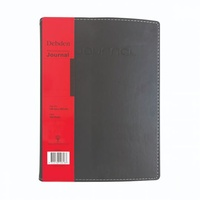 Notebook Journal A5 Soft Vivella Black Spiral bound RB5000 - each