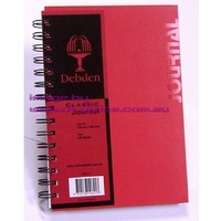 Notebook Journal A5 Hard Cover Red RB5011 - each