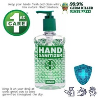 Hand Sanitizer 1st Care Pump Action 235ml 112685