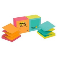 Post-it notes POP UP  75x 75mm R330N Alt Refill Capetown With Bonus Jax Dispenser -  if o/s use code 10405312 and 10405289