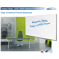 Whiteboard EDGE LX9000 1200 x 900 Designer Range Architectural LX9-1290 - each