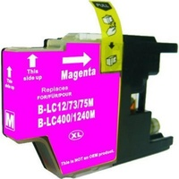 LC73XL Magenta Compatible Inkjet Cartridge  LC40 LC73 for Brother