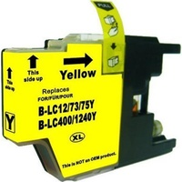 LC73XL Yellow Compatible Inkjet Cartridge  LC40 LC73 for Brother